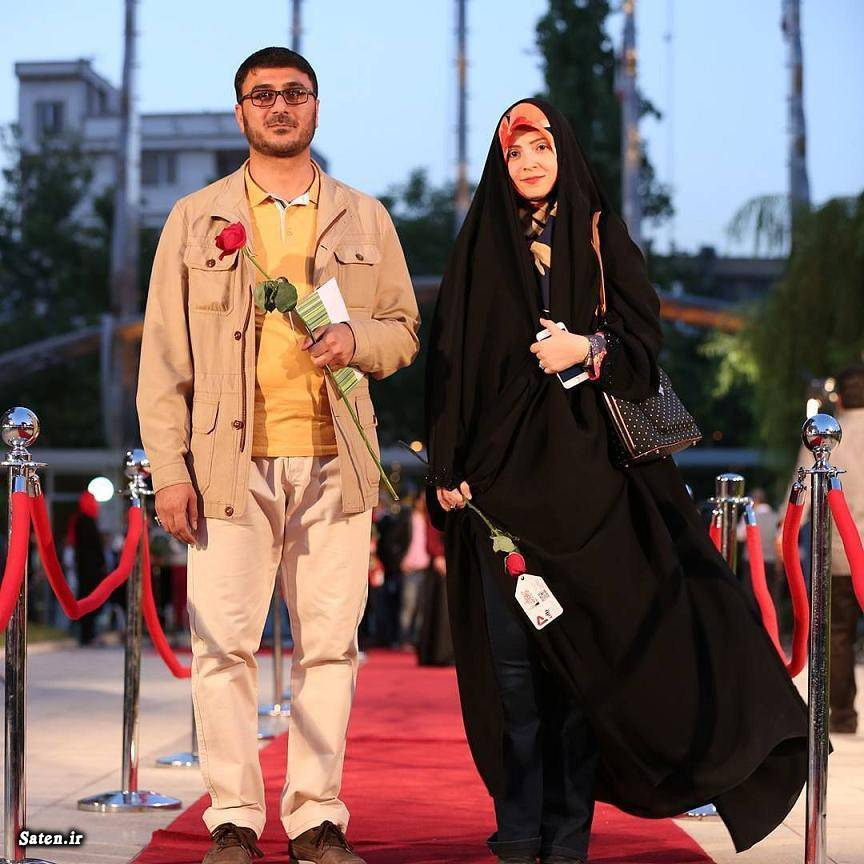 محمدرضا شفیعی و همسرش در جشن حافظ +عکس