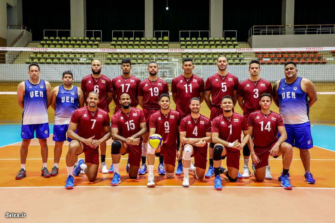 ساعت بازی والیبال ایران و ونزوئلا المپیک ۲۰۲۰