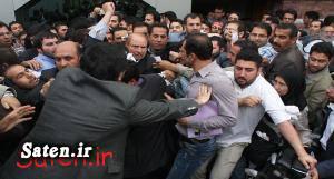 محافظان قالیباف سخنرانی قالیباف حمله به کاندیدا حمله به قالیباف حمله با چاقو