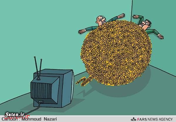 کاریکاتور گل کاریکاتور