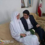 سید حسن خمینی در عقدکنان فرزاد حسنی و آزاده نامداری + عکس