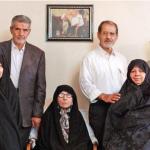 مادر، باجناق و دامادهای حسن روحانی / عکس