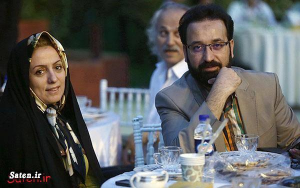 همسر مجری همسر فرزاد جمشیدی مجری معروف مجری سابق مجری تلویزیون فرزاد جمشیدی سید محمد حسینی