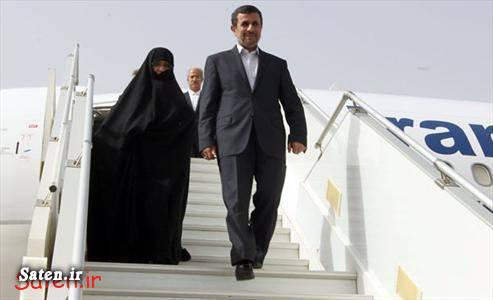 همسر احمدب نژاد احمدی نژاد و همسرش