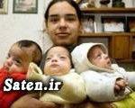 دختر ۱۷ ساله ای که ۷ فرزند دارد + عکس