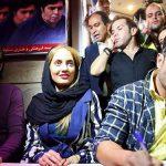 """عکسهای جذاب """" محمد رضا گلزار ، مهناز افشار ، مهناز افضلی ، شهاب مرادی ، مهتاب کرامتی ، بنیامین بهادری و علی کریمی""""  کنار هم در سینما آزادی"""