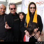 داریوش مهرجویی در کنار همسر و دخترش + عکس