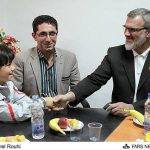 نابغه 9 ساله اردبیلی با پرسپولیس توافق کرد + عکس