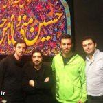 علیرضا واحدی نیکبخت و سیاوش اکبرپور برهنه در حال سینهزنی + تصاویر