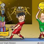 فوتبال ایران، مقام نخست ناکامی در دریافت جوایز ۲۰۱۳ آسیا را بدست آورد  !