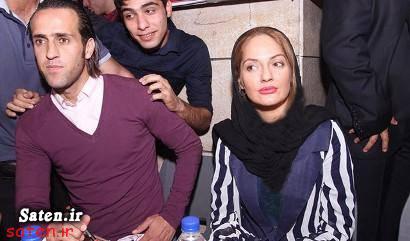 عکس علی دایی همراه همسرش