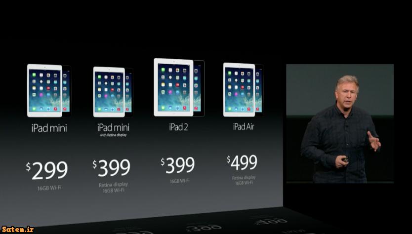 مشخصات تبلت iPad Air قیمت تبل iPad Air