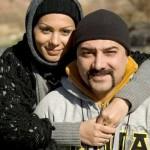 مصاحبه و چند حرف درگوشی با برزو ارجمند و همسرش + عکس