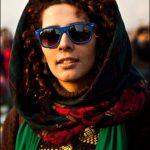 دختر تهرانی با قمه به ماموران پلیس حمله ور شد!