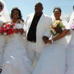 ازدواج همزمان مردی با 4 دختر + تصاویر
