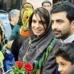 عکس جدید امین زندگانی (بازیگر شاهگوش) در کنار همسرش + بیوگرافی
