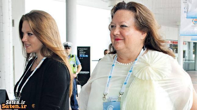 همسر جینا راینهارت شوهر جینا راینهارت زندگینامه میلیاردرها زندگینامه جینا راینهارت زندگینامه ثروتمندان زن استرالیایی راز ثروتمندان ثروتمندترین زن جهان بیوگرافی جینا راینهارت