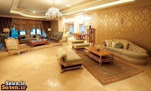عکس از خانه ی علی دایی