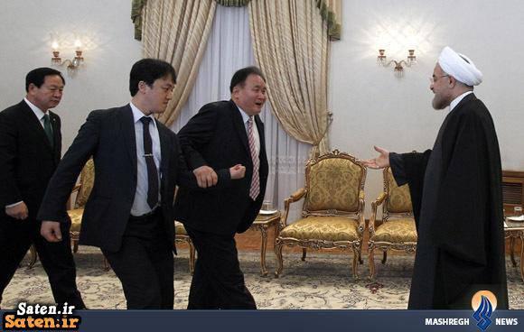 عکس سیاسی عکس جدید حسن روحانی دست دادت با روحانی