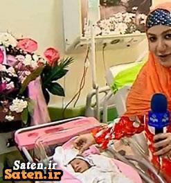 شادونه دختر ملیکا زارعی (خاله شادونه) و علی صادقی بدنیا آمد ! + عکس جدید