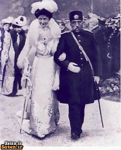 همسر مظفرالدین شاه ملکه ایتالیا مظفرالدین شاه عکس ملکه ایتالیا عقد مظفرالدین شاه عروسی مظفرالدین شاه زن مظفرالدین شاه
