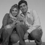 """جدیدترین عکس از پدر ، همسر و خواهر """"نیوشا ضیغمی"""""""