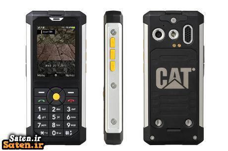 مشخصات گوشی موبایل ضدآب قیمت گوشی Cat B100 فروش گوشی موبایل ضدآب فروش گوشی ضدضربه