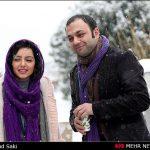 """از """"مهناز افشار"""" تا """"علی ضیا"""" بازیگران و افراد مشهور در یک روز برفی + عکس"""