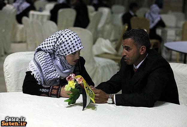 مراسم عروسی لباس مخصوص عروس لباس عروس فلسطینی عروسی فلسطینی عروس فلسطینی ازدواج فلسطینی