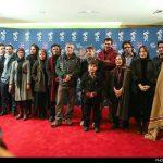لباس و پوشش عجیب بازیگر زن در جشنواره فجر + عکس