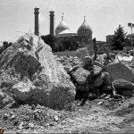 قبر رضا شاه پهلوی بعد از تخریب + عکس