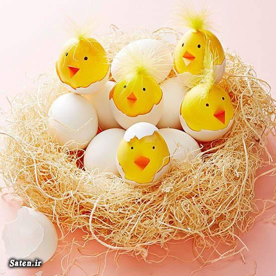 تزیین تخم مرغ هفت سین عید ،جدیدترین و زیباترین ایده ها + عکس