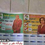 کار بی شرمانه یک زن جوان برای جذب آراء مجلس + عکس