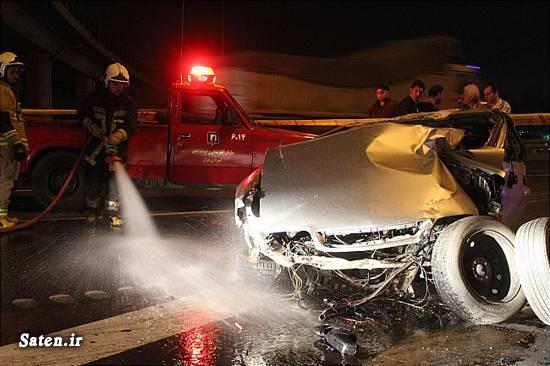 عکس تصادف تصادف وحشتناک در ایران تصادف عجیب تصادف زانتیا تصادف خودرو تصادف جالب اخبار تصادف