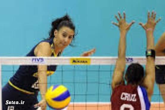 والیبال زنان همسر شیلا کاسترو شیلا کاسترو بیوگرافی شیلا کاسترو بهترین زن بازیکن زن Sheilla Castro