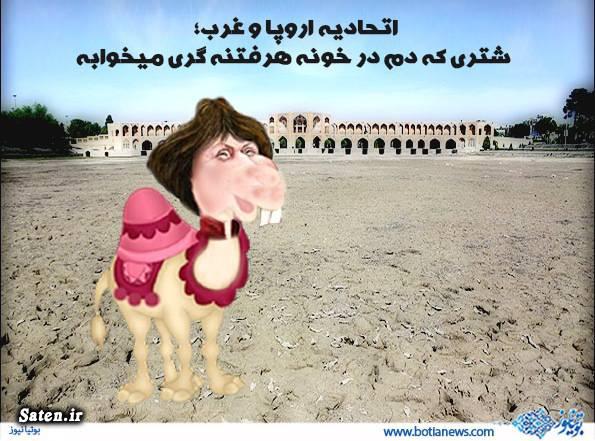 کاریکاتور شتر کاریکاتور سیاسی کاریکاتور اشتون خانه فتنه گران آدرس فتنه گران