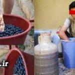 تولید شراب در وان حمام آپارتمانهای تهران + عکس