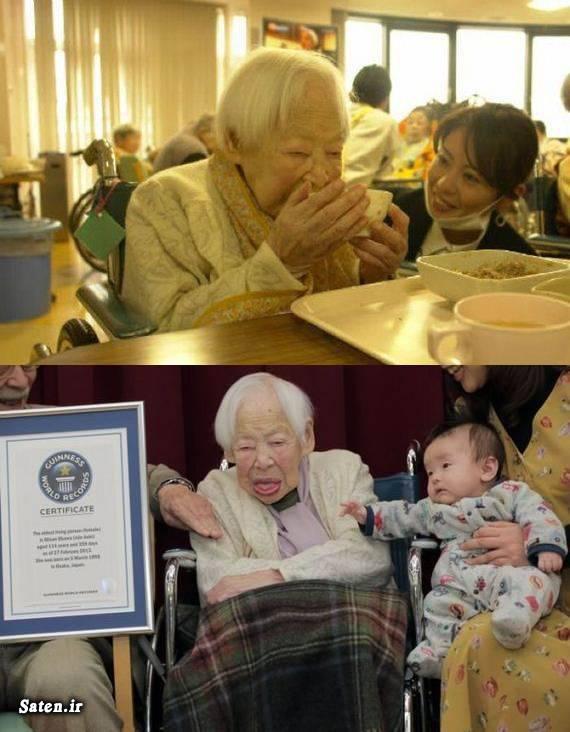 میسائو اوکاوا طرز تهیه سوشی راز طول عمر خواص سوشی پیر ترین فرد دنیا بیوگرافی میسائو اوکاوا اموزش طول عمر آموزش سوشی