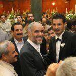 """افراد مشهوری که در جشن عروسی """"علی دایی"""" حضور داشتند + تالار عروسی"""