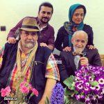 محمد رضا گلزار ، هدایتی و شریفی نیا پای سفره هفت سین نوروز 93 + عکس