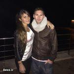 ابراز عشق اینستاگرامی فوتبالیست معروف به همسرش !! + عکس