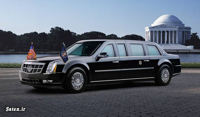 ماشین ریس جمهور ماشین اوباما خودور اوباما خودروی ضد گلوله خودروی ریس جمهور