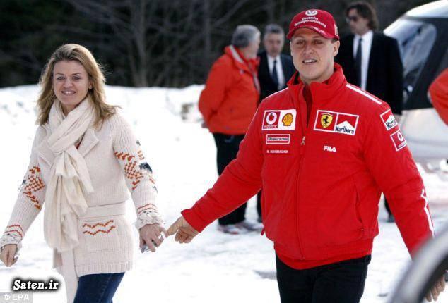 همسر مایکل شوماخر مایکل شوماخر گرانقیمتترین سرمایه گذاری بیوگرافی مایکل شوماخر
