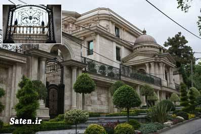 قصر زیبا قصر در تهران خانه ثروتمندان ثروتمندان تهران ثروتمندان ایران
