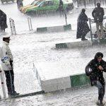 کشته شدن یک زن و یک مرد جوان در طوفان دیروز تهران