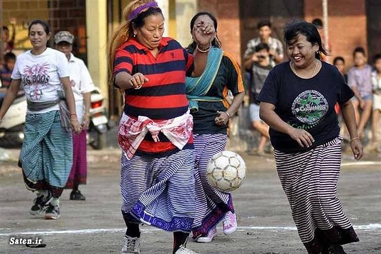 فوتبال زنان عکس عجیب عکس زیبا عکس جالب زنان هندی زن هندی دختر هندی