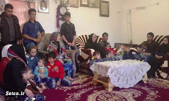خانوده عحیب خانوده جالب اکبر کمالبین ازدواج زود هنگام اخبار عجیب اخبار جالب آرماتوربندی