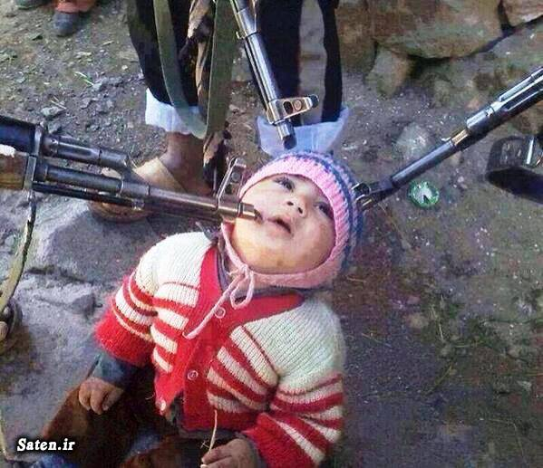 کودک سوری کوچکترین اسیر فیلم تروریست عکس تروریست تروریست