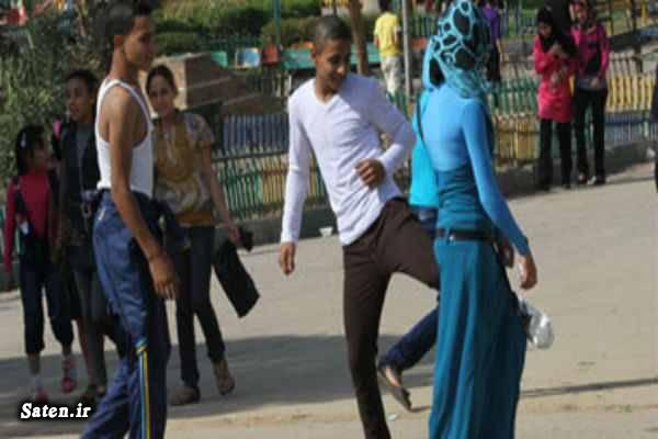 لباس تحریک آمیز زن مصری دختر مصری خشونت جنسی تجاوز جنسی به زور آزار جنسی زنان و دختران