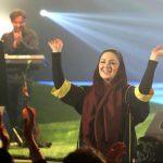 شیلا خداداد ، مهتاب کرامتی و بازیگران معروفی که به کنسرت بنیامین بهادری رفتند + عکس